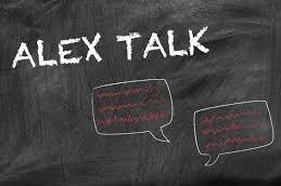 Hier sehen Sie ein Bild mit der Aufschrift: Alex Talk.