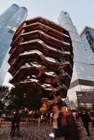 """Hier sehen Sie ein Foto von der """"New York"""" Ausstellung."""